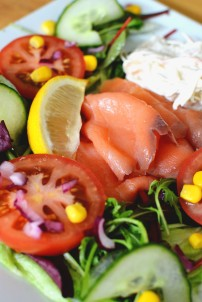 salmon salad DSC_0085
